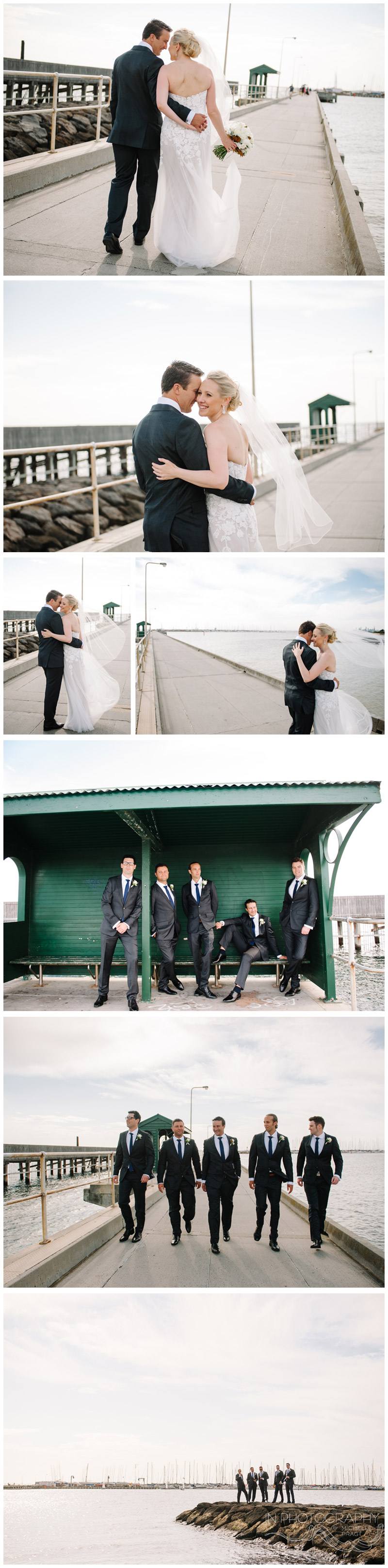 wedding photography at Brighton baths