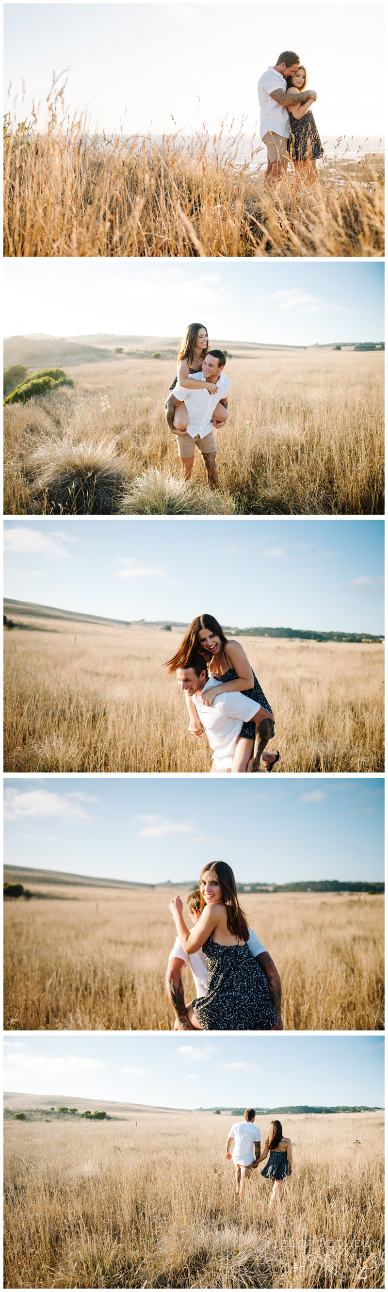 mornington peninsula couple photography session