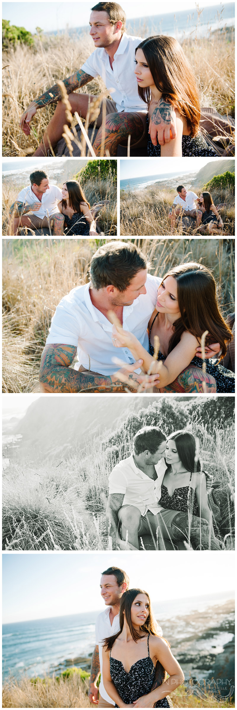 engagement session on mornington peninsula
