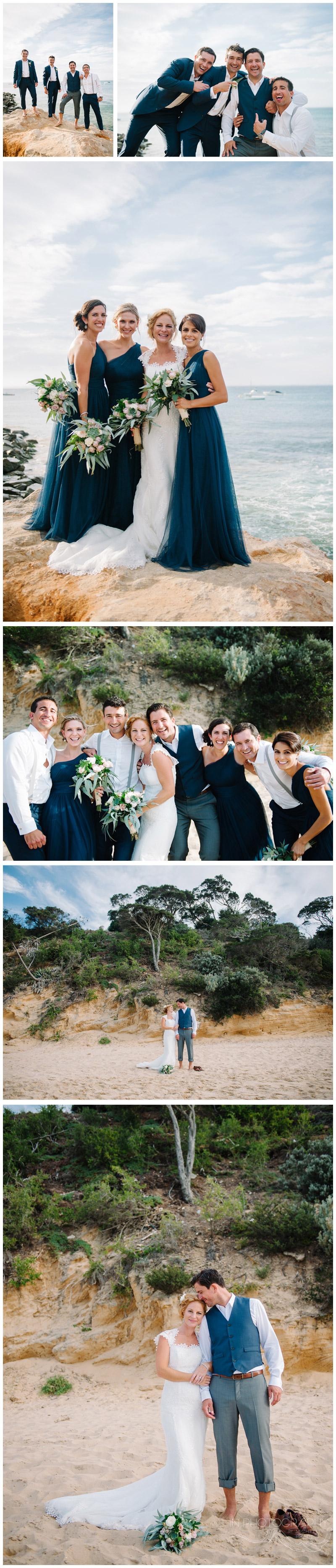 wedding photos at Portsea Hotel