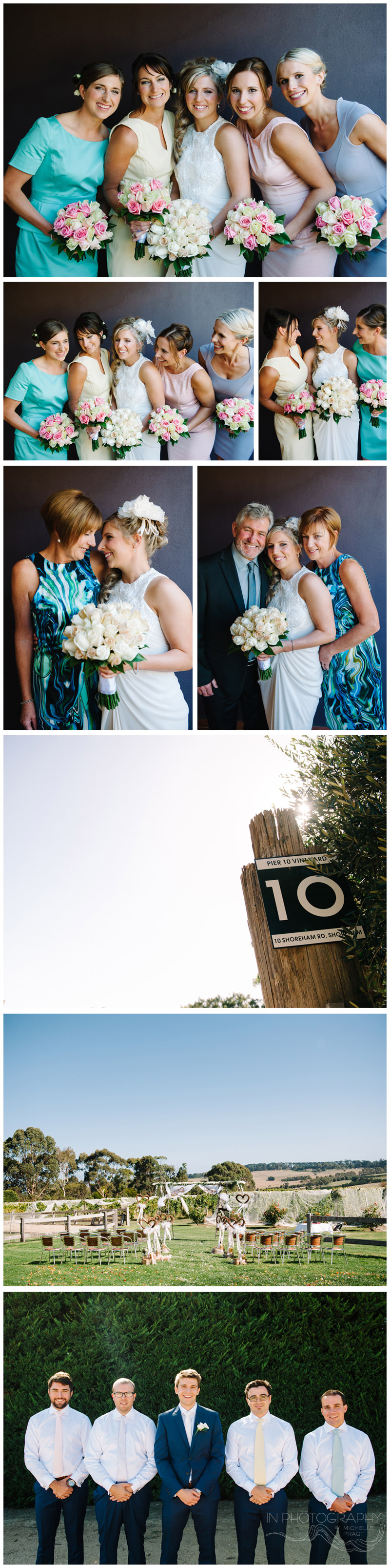 wedding at Pier 10 in Red Hill