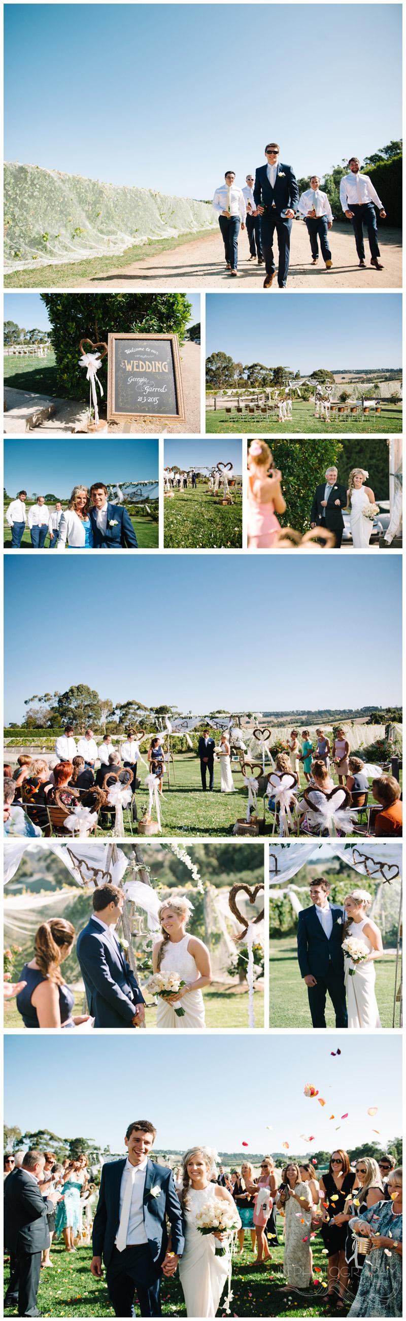 Pier 10 wedding ceremony