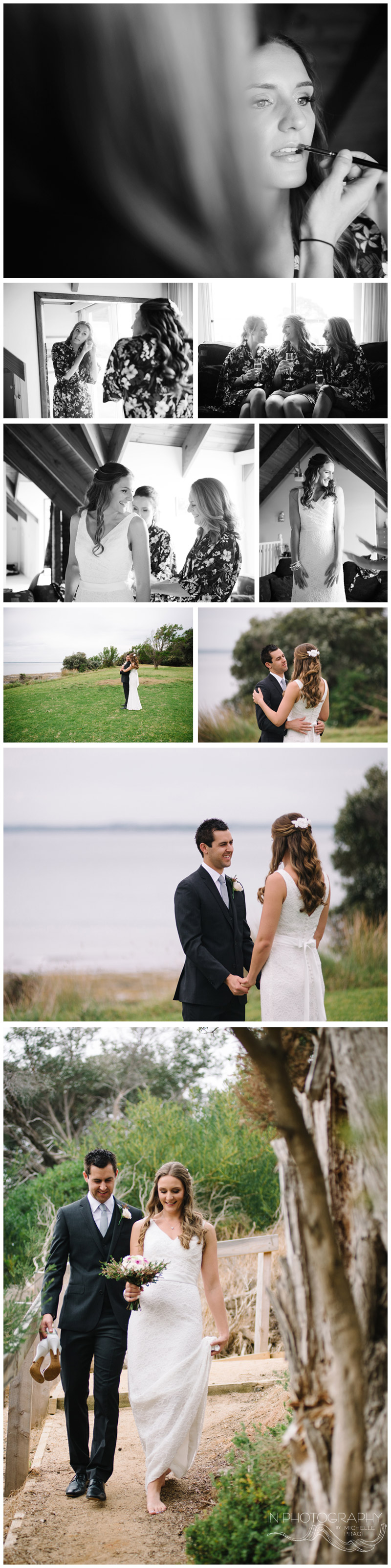 beach Phillip Island beach wedding