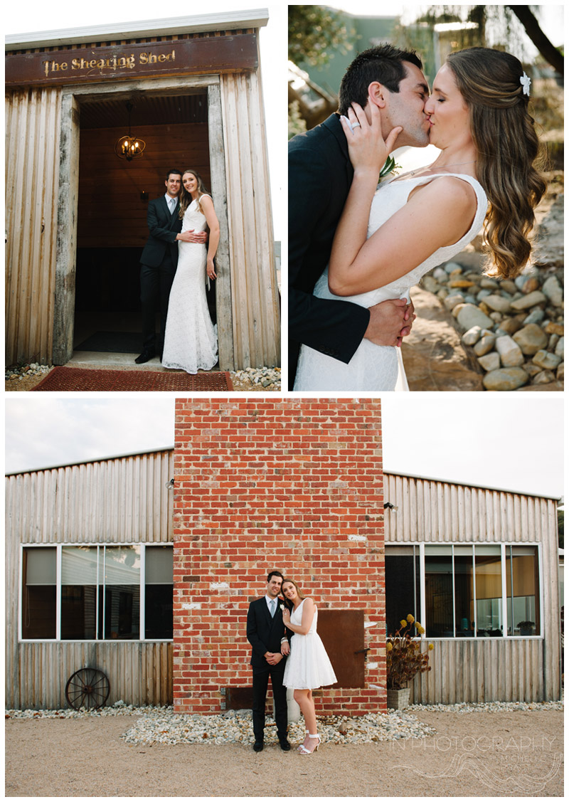rustic wedding at The Shearing Shed