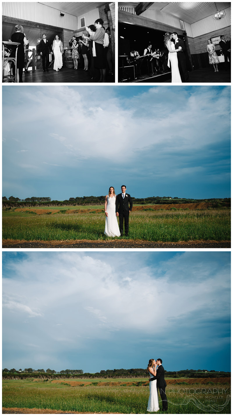 Phillip Island wedding reception