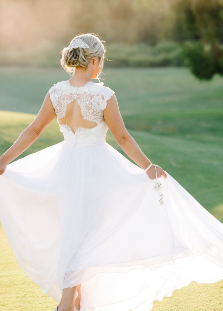 Mornington peninsula wedding gown
