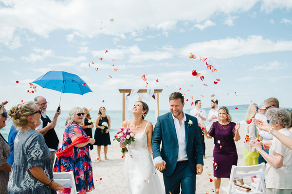Mornington Peninsula beach wedding|Michelle Pragt