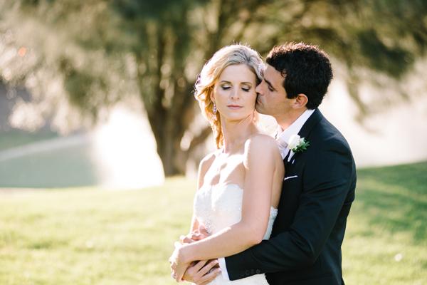 bride and groom at Eagle Ridge