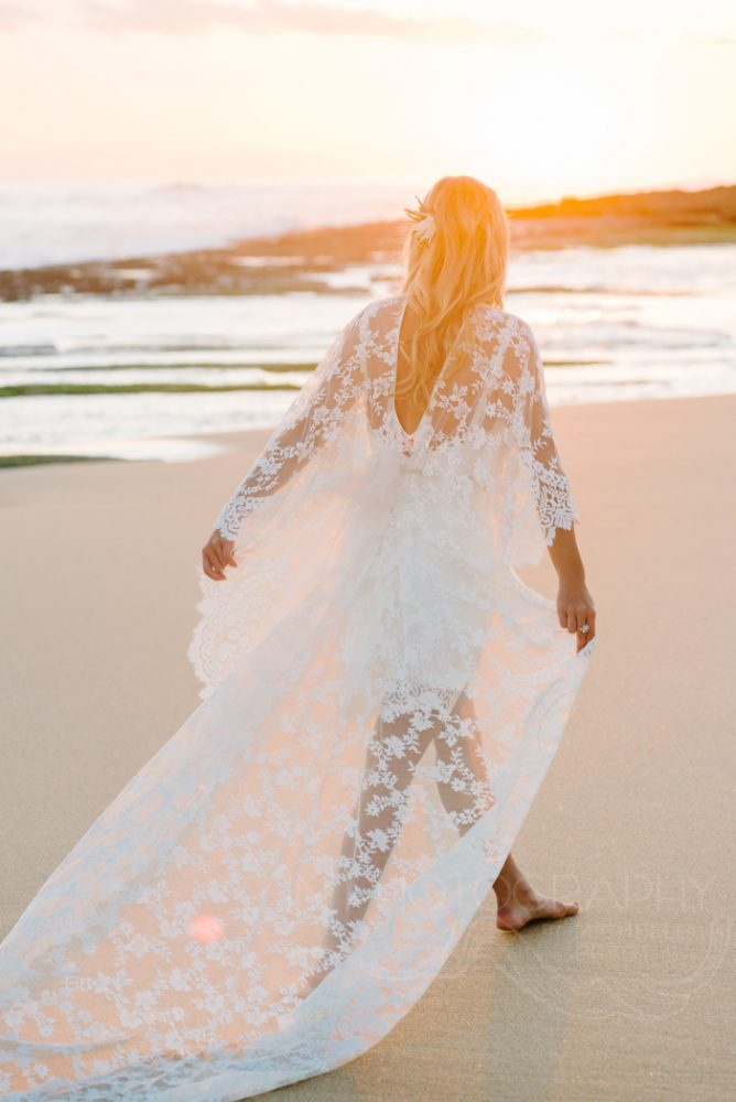 boho Mornington peninsula bride