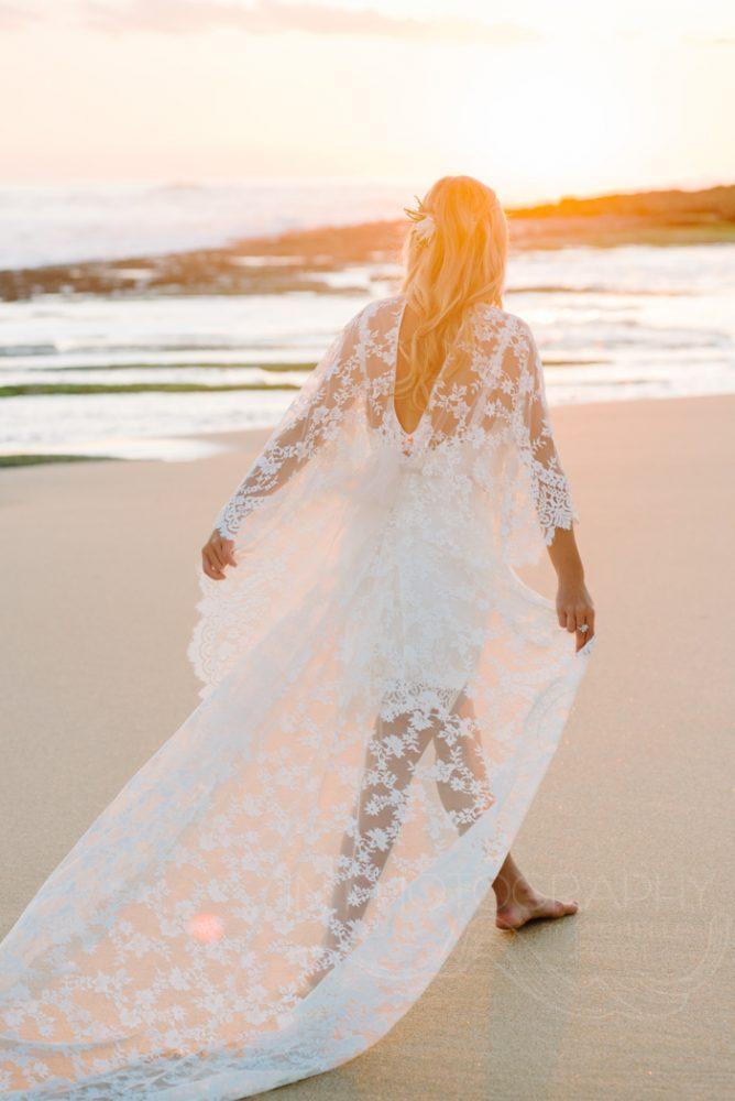 boho Mornington peninsula bride