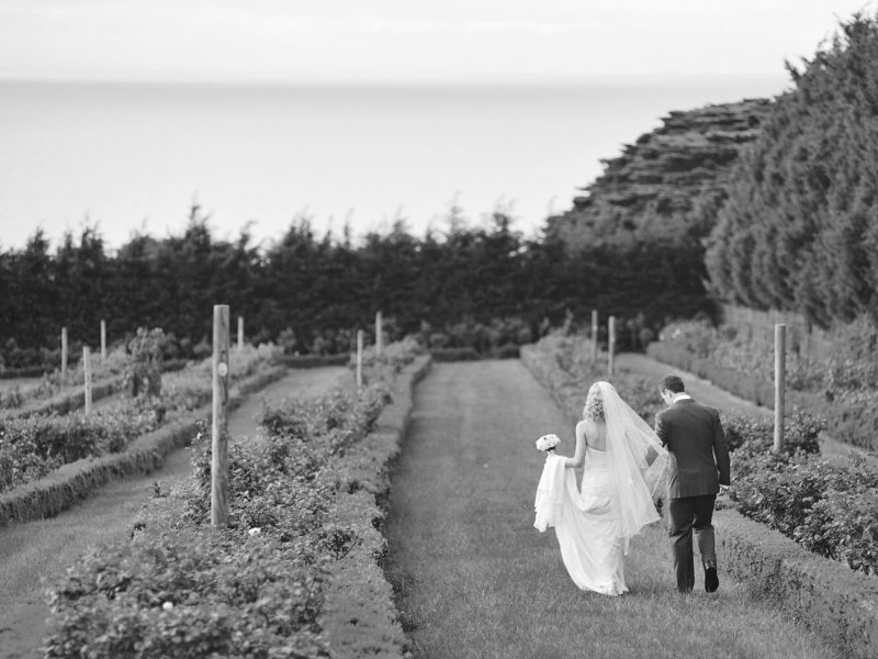 bride and groom at Morningstar Estate wedding
