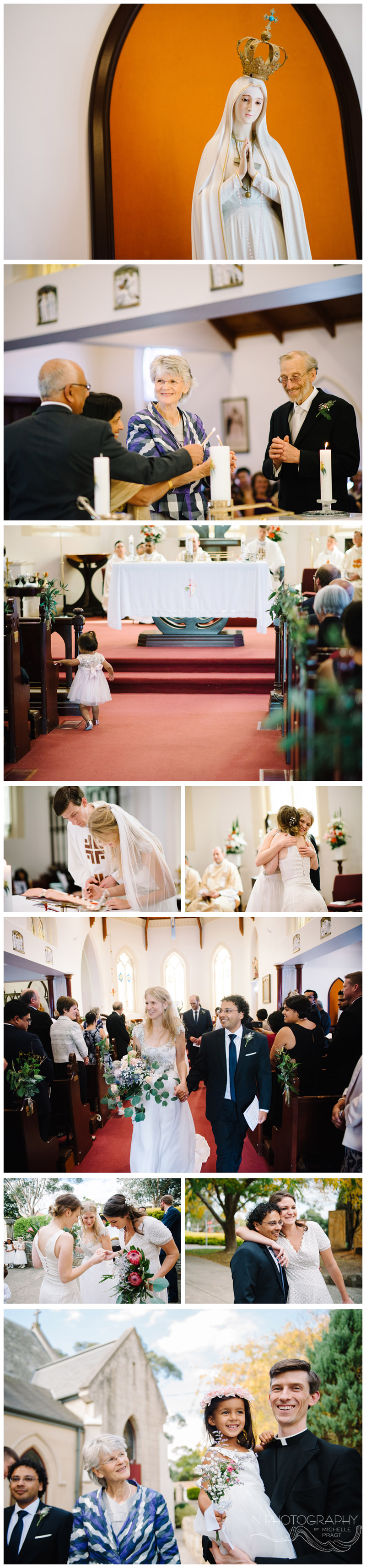 Healesville church wedding ceremony