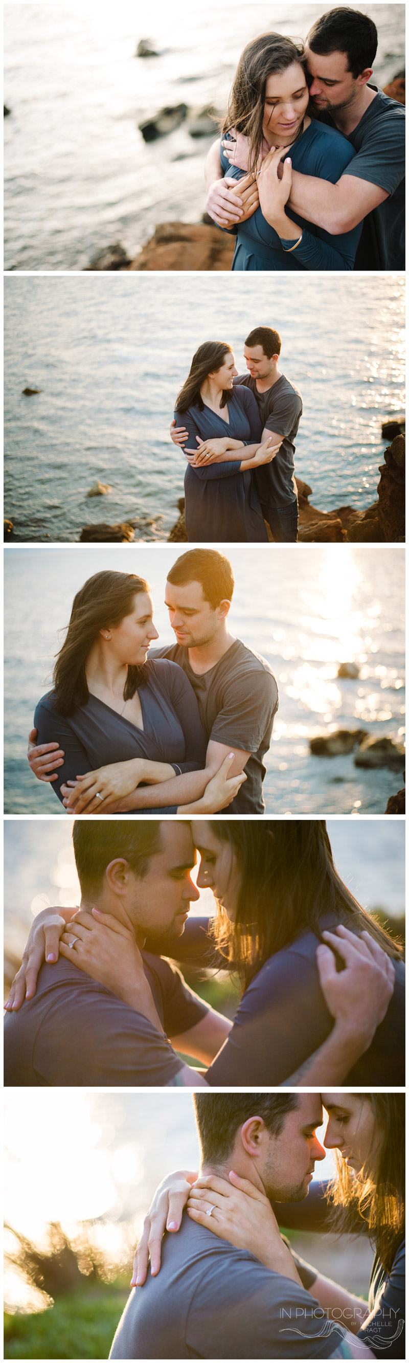 Maternity sunset beach session