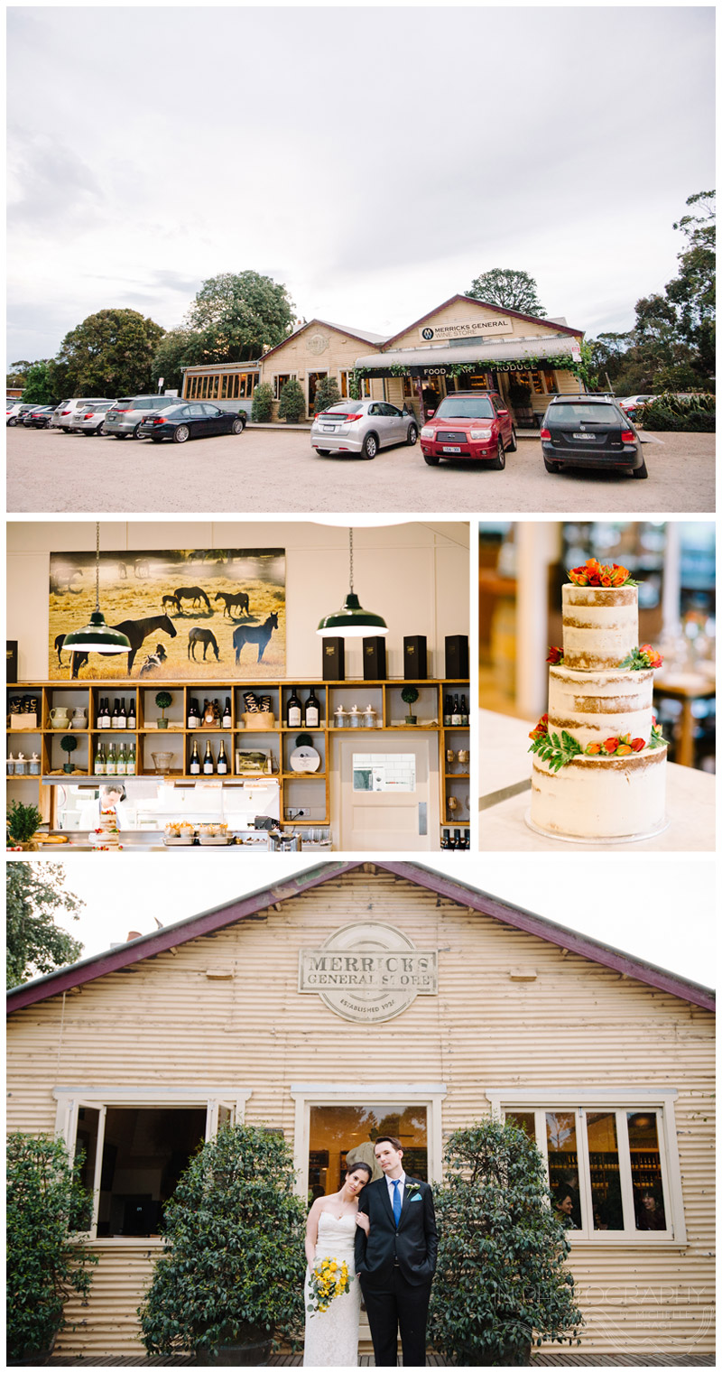 wedding reception at Merricks General Store