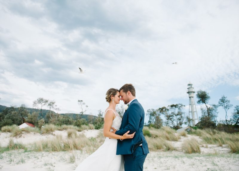 Bride and groom by In Photography by Michelle Pragt