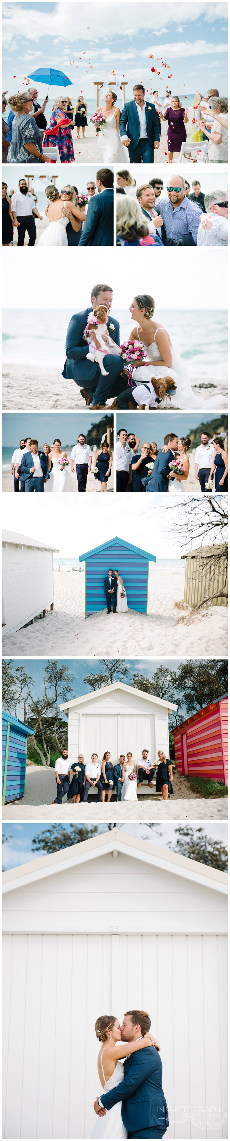 Mornington Peninsula beach wedding photography by Michelle Pragt