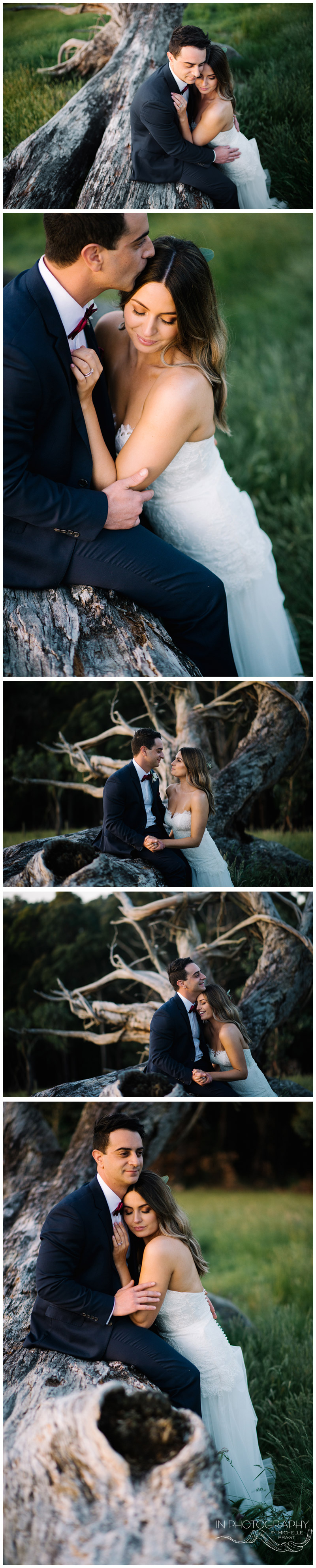 Mornington Peninsula wedding photographer Michelle Pragt of In Photography
