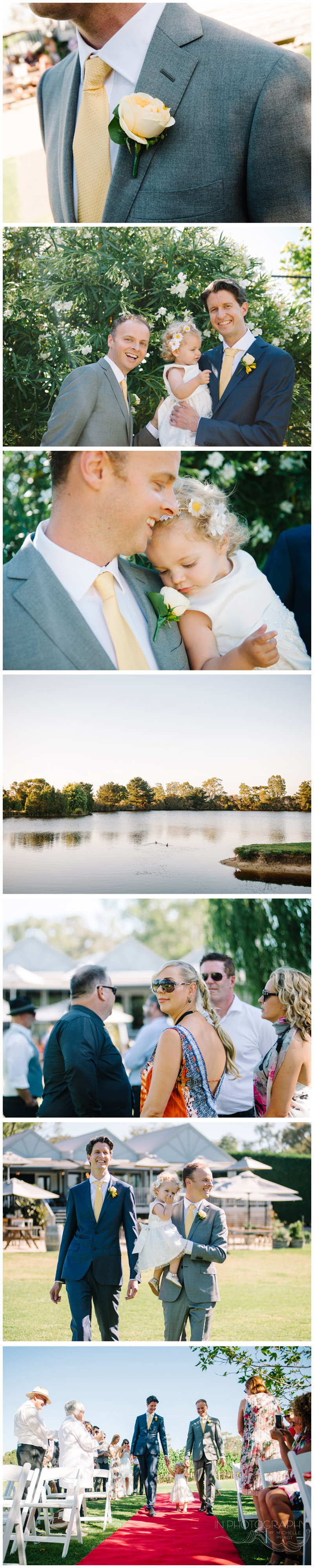 same sex wedding photography at Mornington Peninsula winery