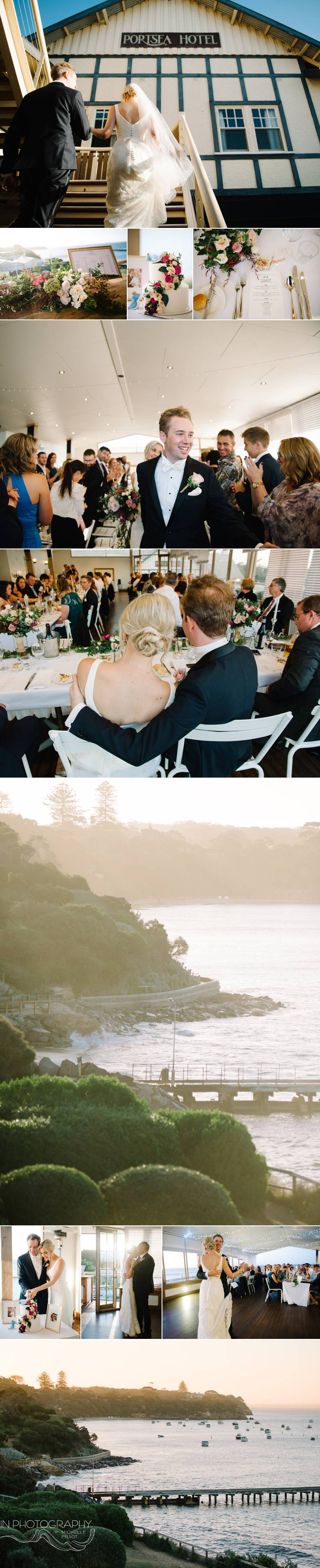 Portsea Hotel wedding reception