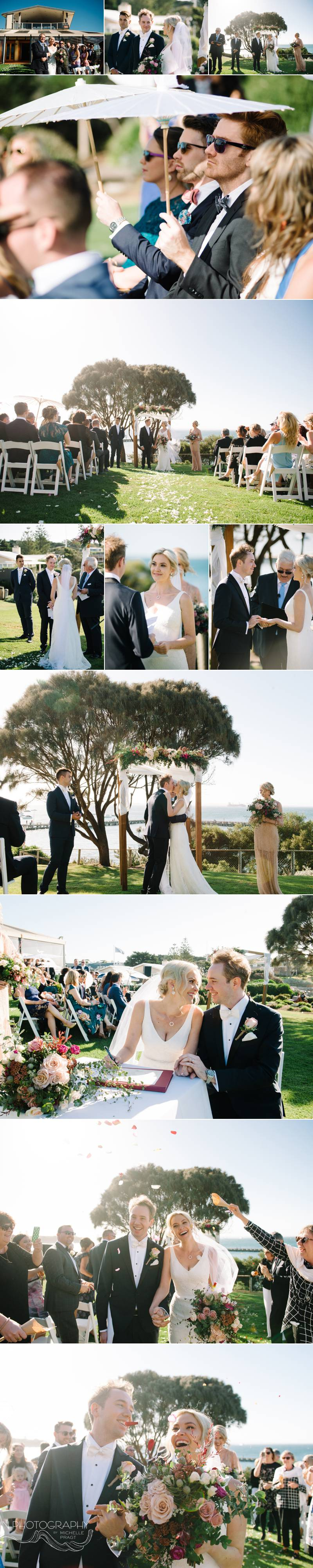 wedding photography at Portsea Hotel