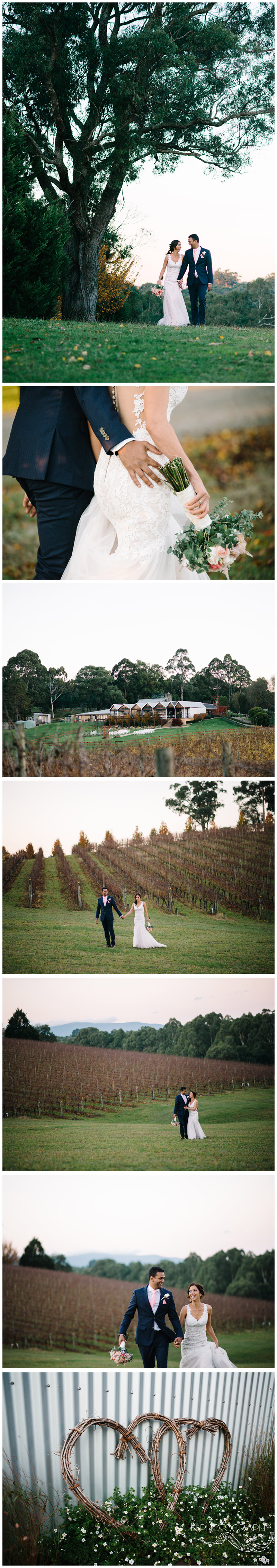 Yarra Ranges Estate wedding photography