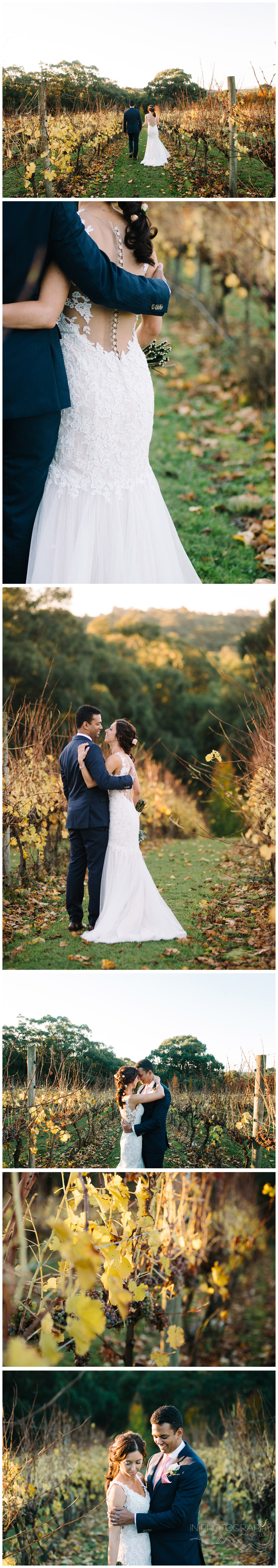 Autumn wedding in Yarra Valley