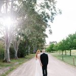 Bride and groom at Stillwater at Crittenden by Michelle Pragt