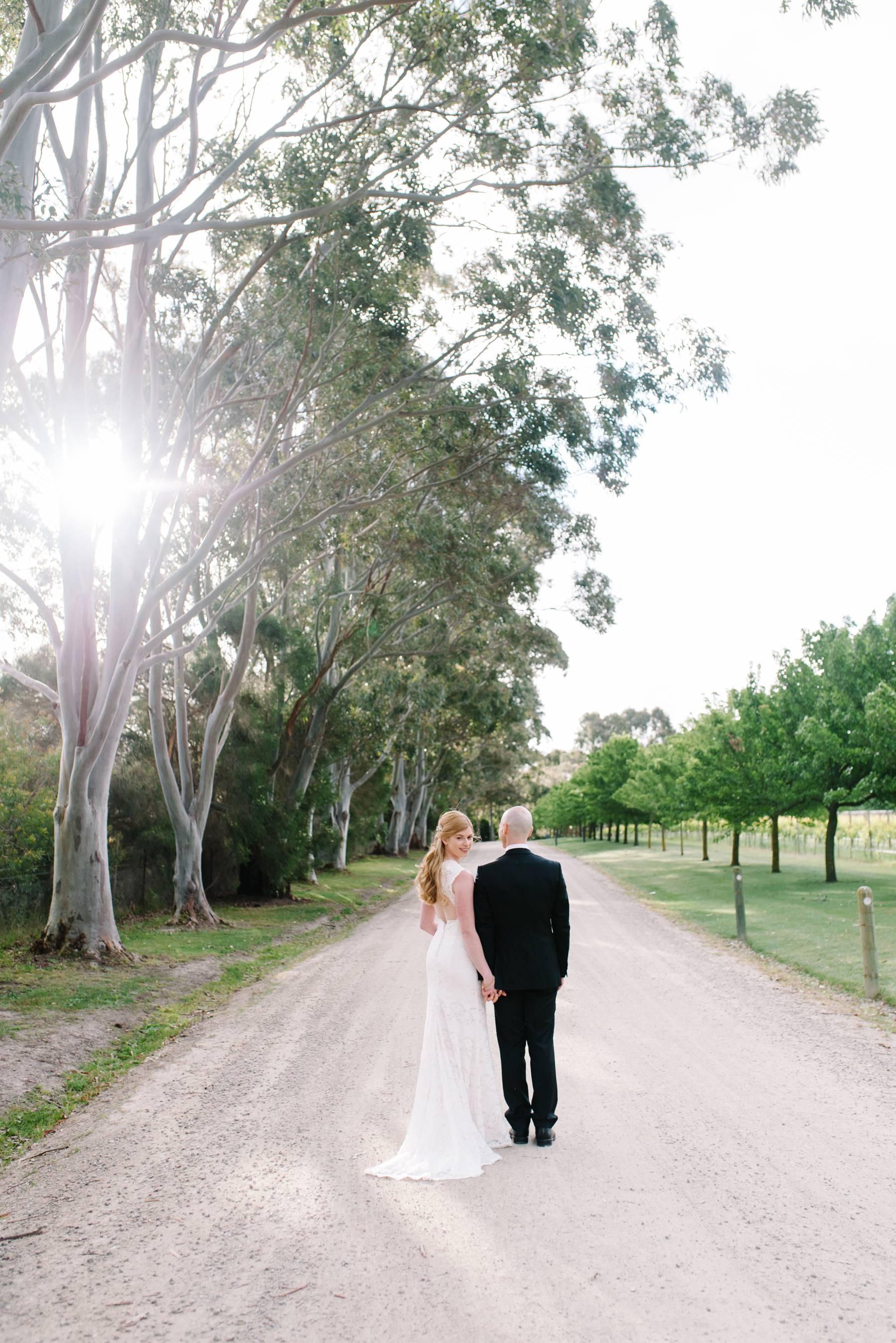 Bride and groom at Stillwater at Crittenden by Michelle Pragt