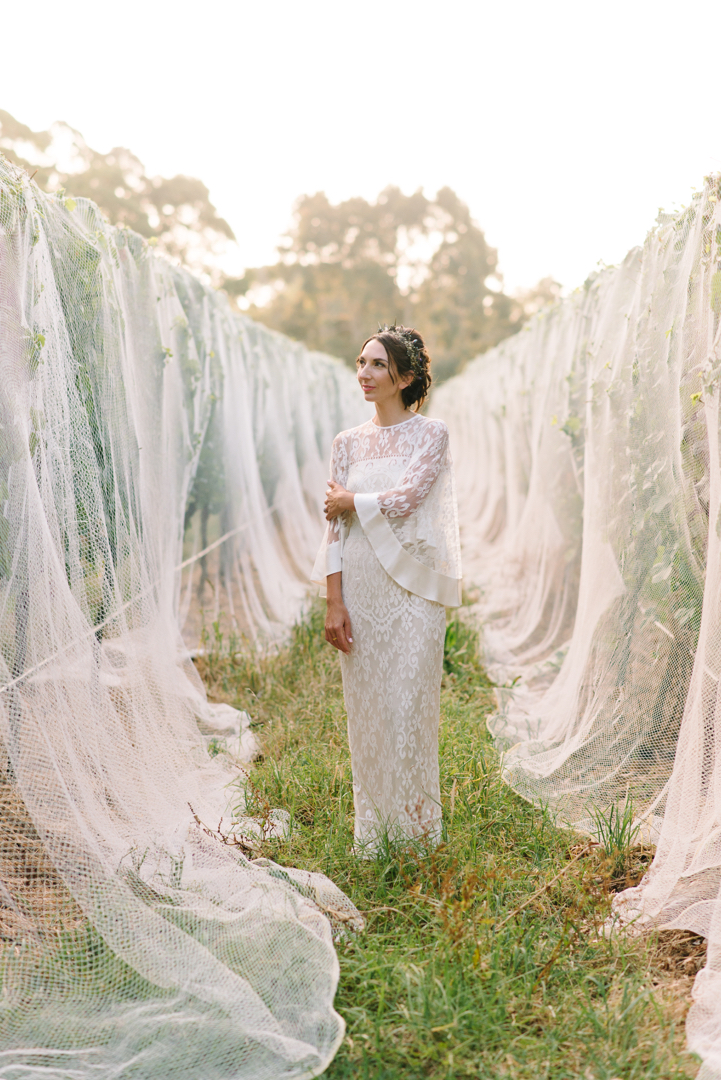 Mornington Peninsula bride by Michelle Pragt