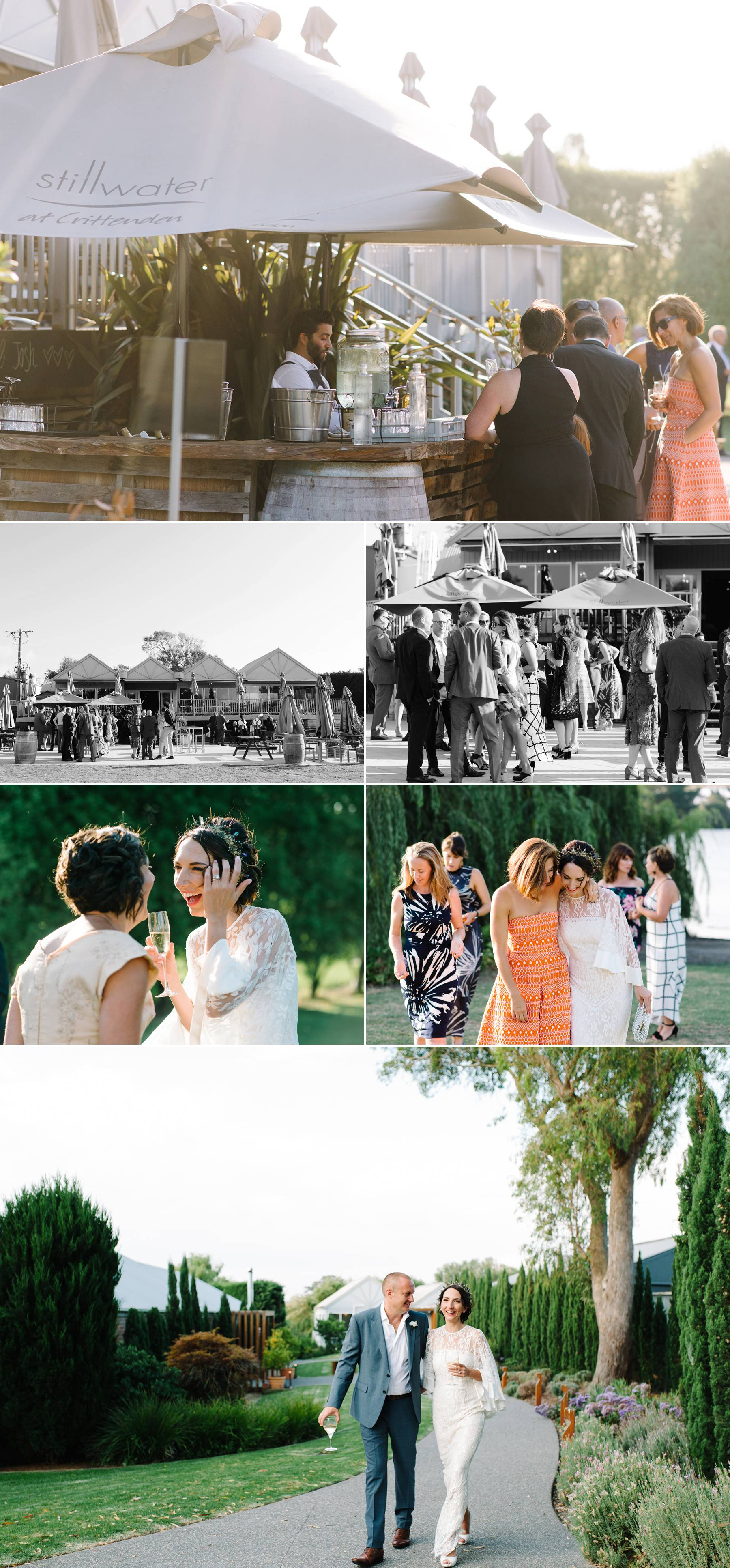 Mornington Peninsula wedding reception photography by Michelle Pragt