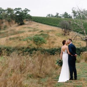 Australian country bride and groom by Michelle Pragt