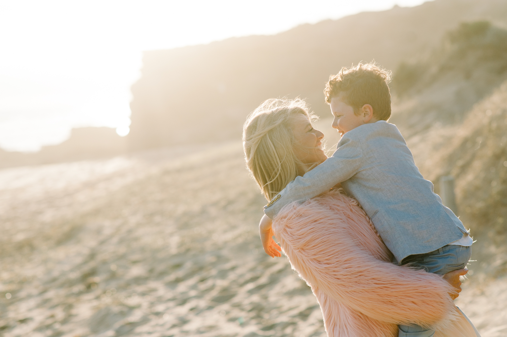 Mother and son by Mornington Peninsula family photographer Michelle Pragt