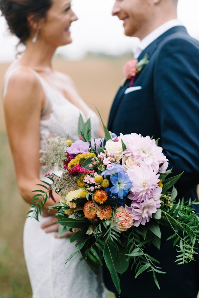 bridal bouquet by Melbourne wedding photographer Michelle Pragt