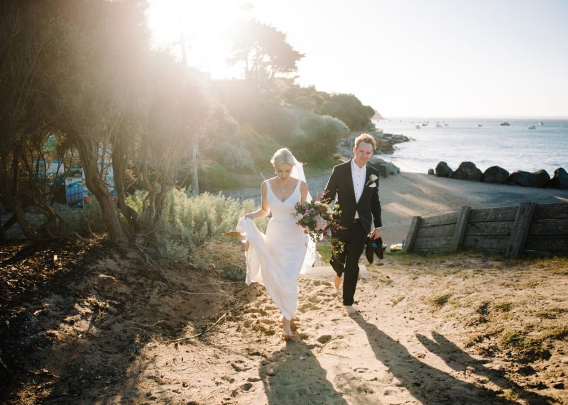 Portsea wedding by Michelle Pragt melbourne wedding photographer