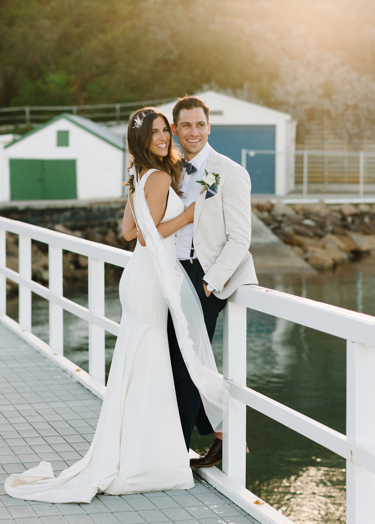 Bride and groom photos by Mornington Peninsula photographer Michelle Pragt