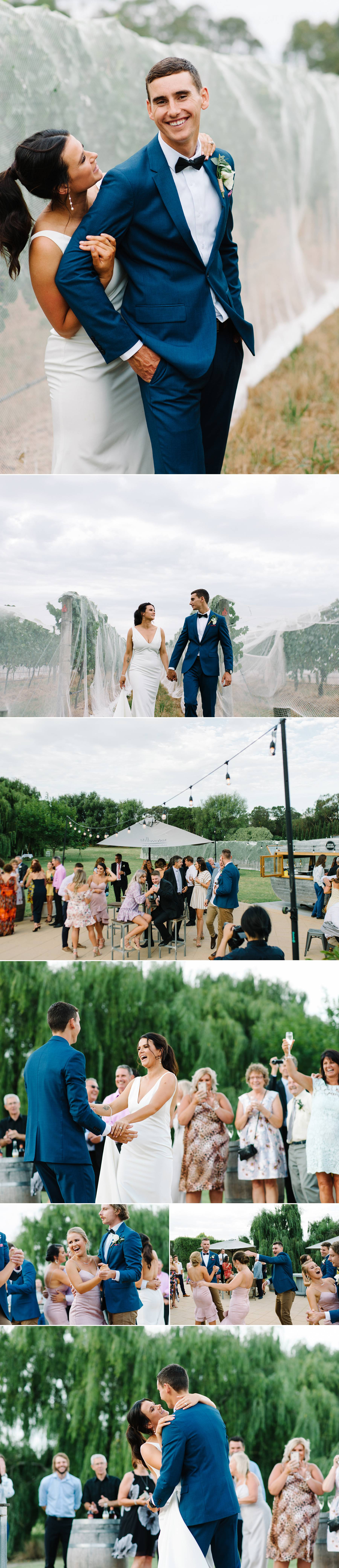Mornington Peninsula wedding reception photography by Michelle Pragt