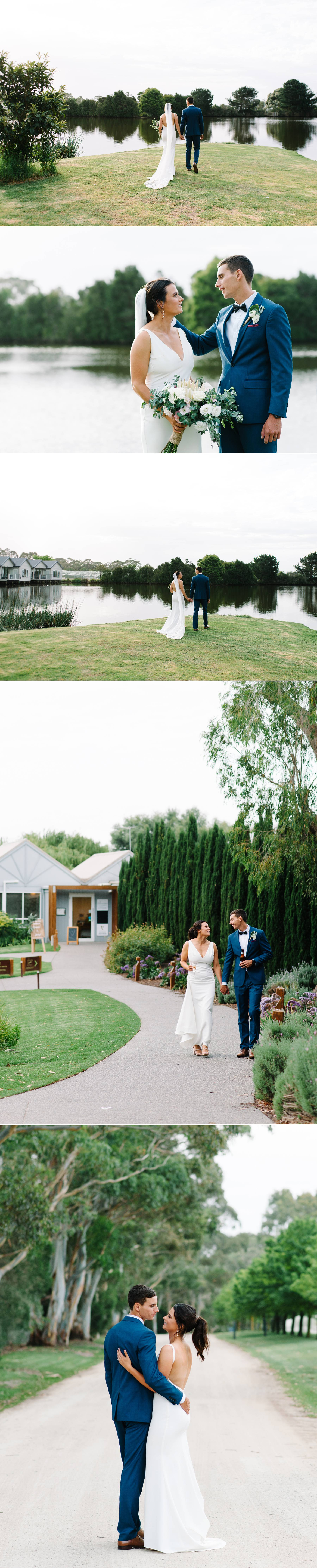 Bride and groom photography at Stillwater at Crittenden wedding by Michelle Pragt
